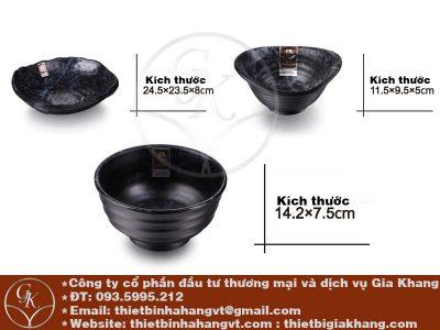 Bát đĩa Nhật hàn chất liệu Melamine, được thiết kế theo phong cách Nhật Bản, Hàn Quốc, Thái Lan,...